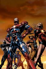 Dark Avengers Vol 1 1 Second Printing Variant Textless