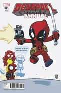 Deadpool Annual Vol 4 1 Young Variant
