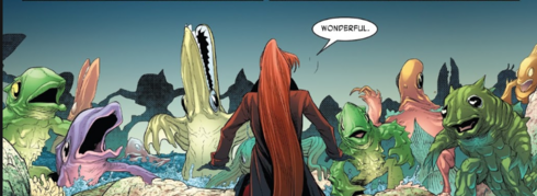 Fishmen from Monsters Unleashed Vol 3 10 0001