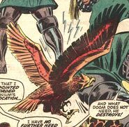 Hawk scanner from Astonishing Tales Vol 1 6
