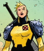 Illyana Rasputina (Earth-18138) from Cosmic Ghost Rider Vol 1 3 001