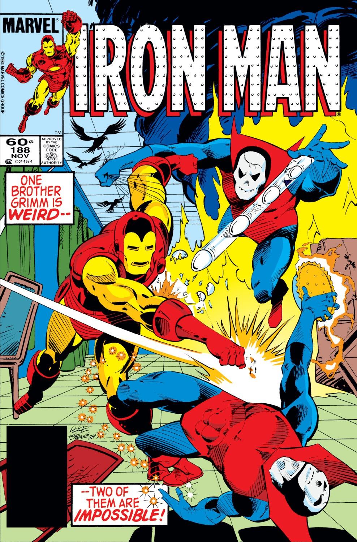 Iron Man Vol 1 188