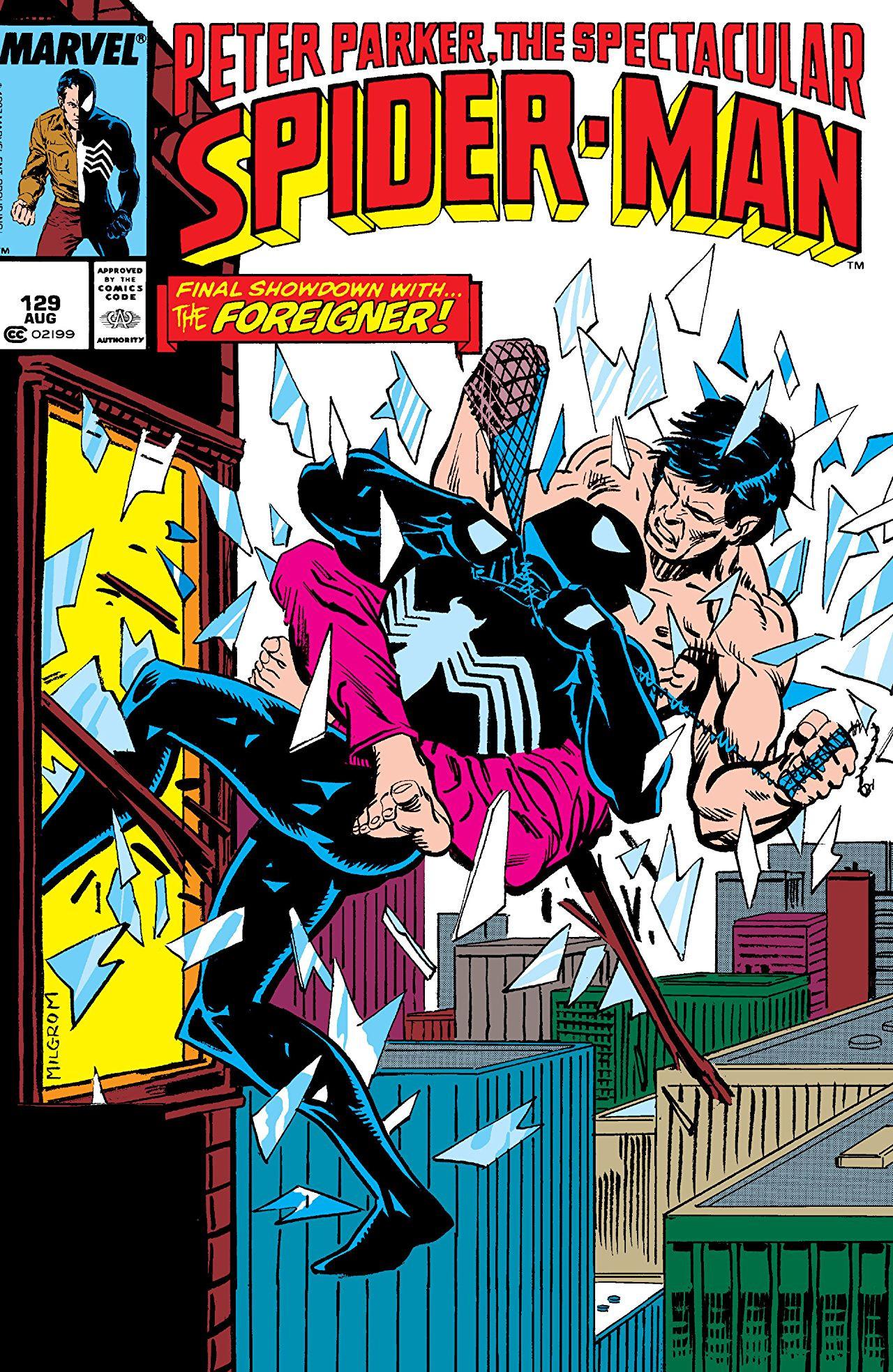 Peter Parker, The Spectacular Spider-Man Vol 1 129