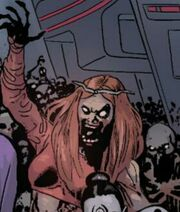 Thundra (Earth-13264) from Age of Ultron vs. Marvel Zombies Vol 1 2 001