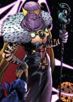 Umar (Warp World) (Earth-616) from Secret Warps Soldier Supreme Annual Vol 1 1 001