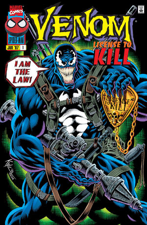 Venom License to Kill Vol 1 1