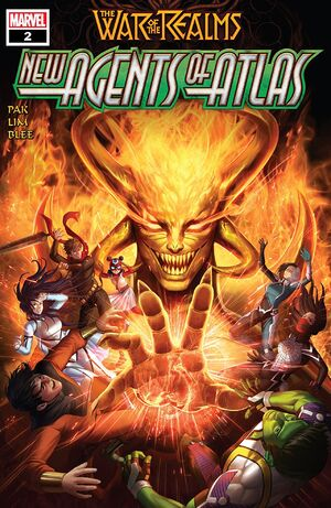 War of the Realms New Agents of Atlas Vol 1 2