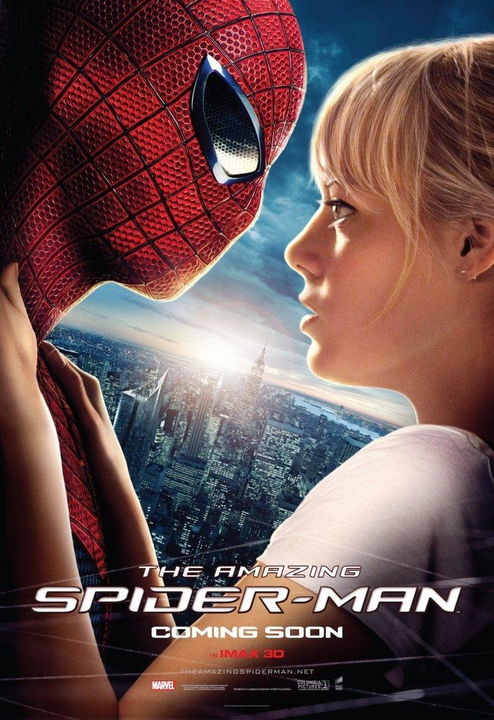 Amazing Spider Man Gwen Stacy Movie Poster
