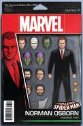 Amazing Spider-Man Vol 4 25 Action Figure Variant