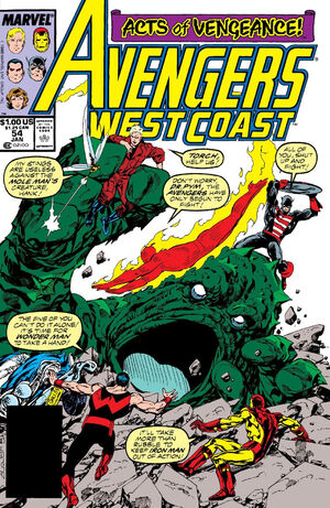 Avengers West Coast Vol 2 54