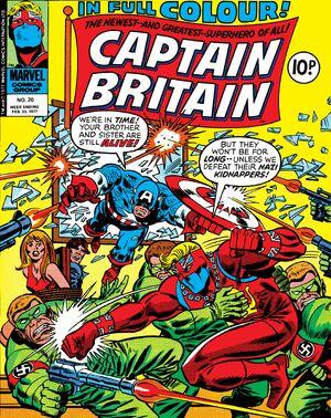 Captain Britain Vol 1 20