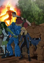 Fantastic Four (Earth-12041) and Supreme Military Agency of Super Humans (Earth-12041)
