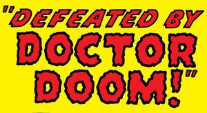 Fantastic Four Vol 1 17 Title