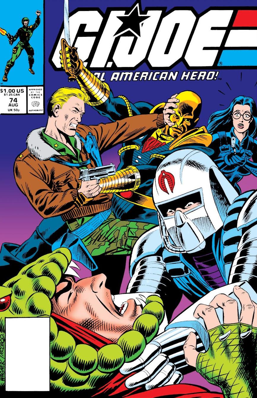 G.I. Joe A Real American Hero Vol 1 74
