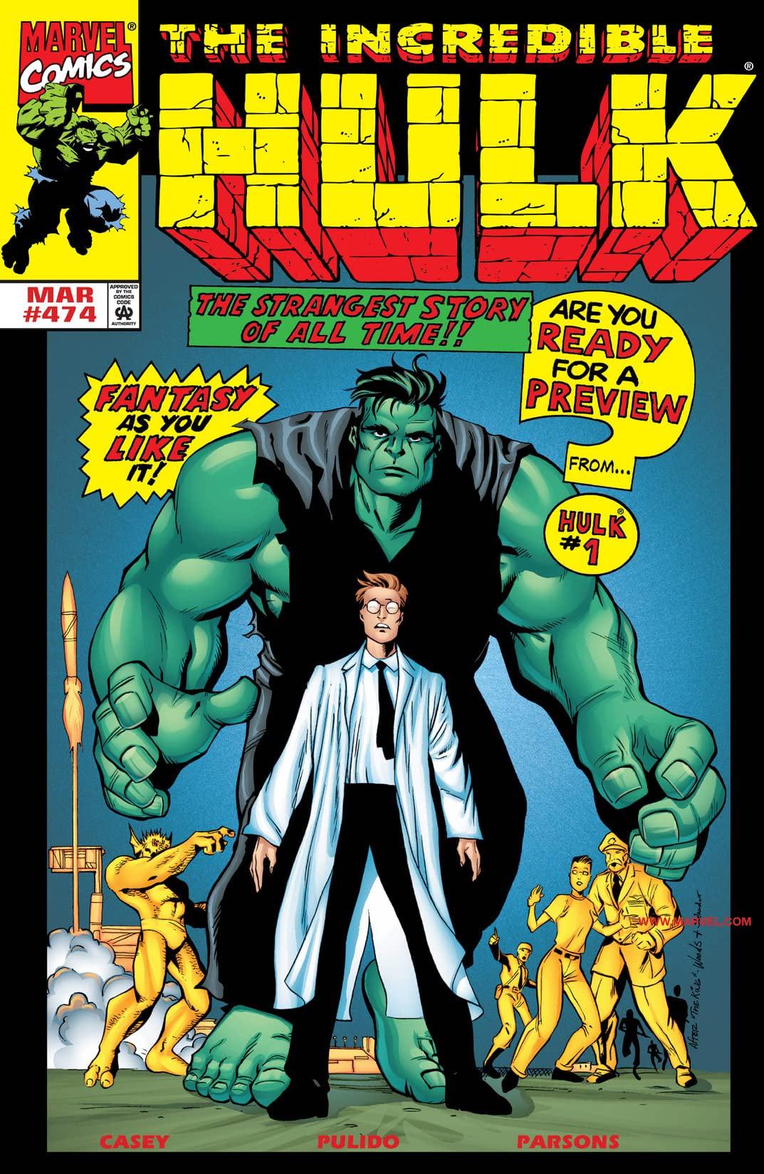 Incredible Hulk Vol 1 474