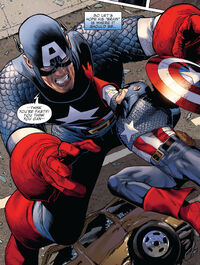 Lyle Dekker (Earth-616) and Steven Rogers (Earth-616) from Captain America Vol 6 3 001