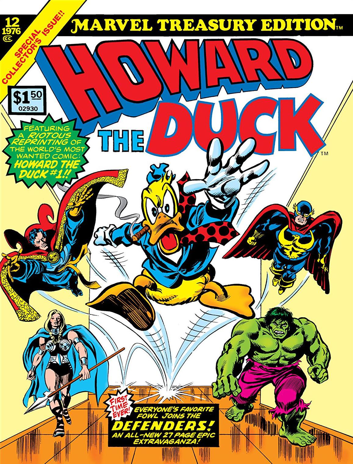 Marvel treasury edition (1974) comic books.