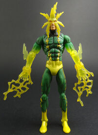 Maxwell Dillon (Earth-616) from Marvel Universe (Toys) Series I Wave V 0002