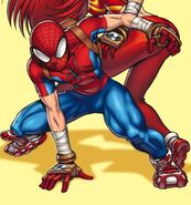 Peter Parker (Earth-2301) from New Mangaverse The Rings of Fate Vol 1 1 Cover