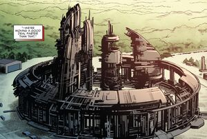 Planetary Defense Shield Base Station from Captain America Steve Rogers Vol 1 11 001