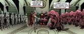 Spaceknights (Galadorian) (Earth-616), Dire Wraiths, and Annihilators (Earth-616) from Annihilators Vol 1 4 0001