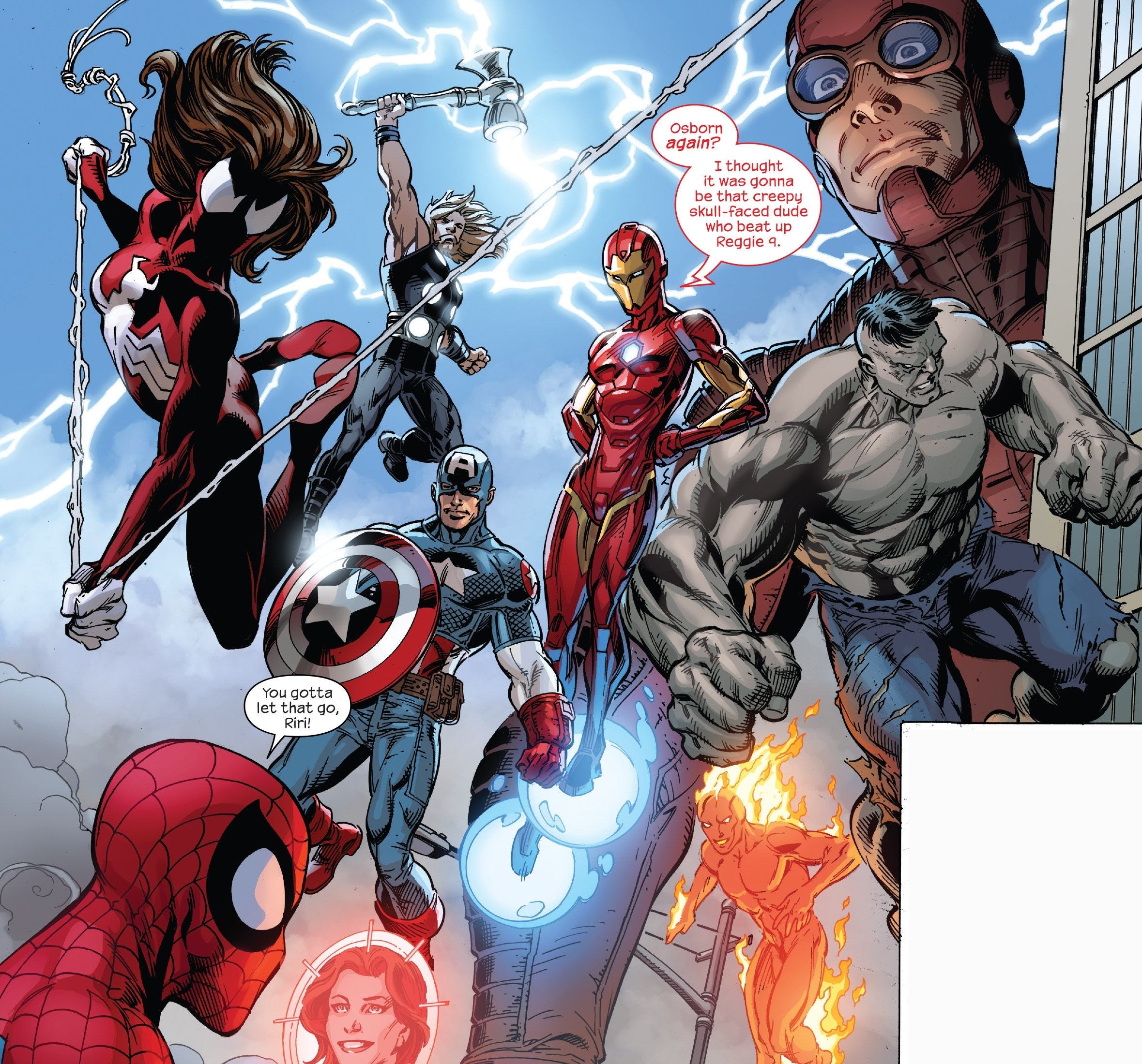 Ultimates (Earth-1610) from Spider-Men II Vol 1 5 001. Ultimates (Earth-1610)  from Spider-Men II Vol 1 5 001