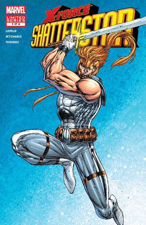 X-Force Shatterstar Vol 1 1