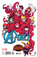 A-Force Vol 1 1 Young Variant