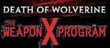 Death of Wolverine The Weapon X Program Logo