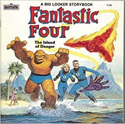 Fantastic Four The Island of Danger