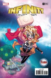 Infinity Countdown Vol 1 1 Mighty Thor Variant
