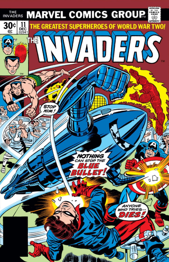 Invaders Classic: The Complete Collection Vol. 1 - Marvel Comics