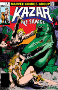 Ka-Zar the Savage Vol 1 4