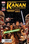 Kanan - The Last Padawan Vol 1 1 Second Printing Variant