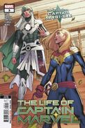 Life of Captain Marvel Vol 2 3 Second Printing Variant