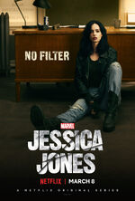 Marvel's Jessica Jones poster 006