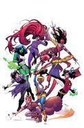 Marvel Legacy Vol 1 1 Women of Marvel Variant Textless