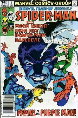 Marvel Team-Up Annual Vol 1 4