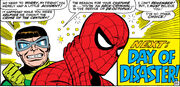 Peter Parker (Earth-616) stricken with amnesia from Amazing Spider-Man Vol 1 55