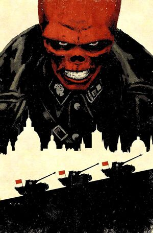 Red Skull Vol 1 5 Textless