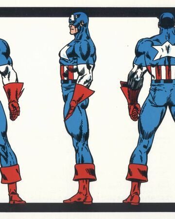 Captain America S Uniform Marvel Database Fandom