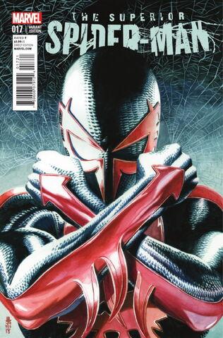 File:Superior Spider-Man Vol 1 17 Jones Variant.jpg