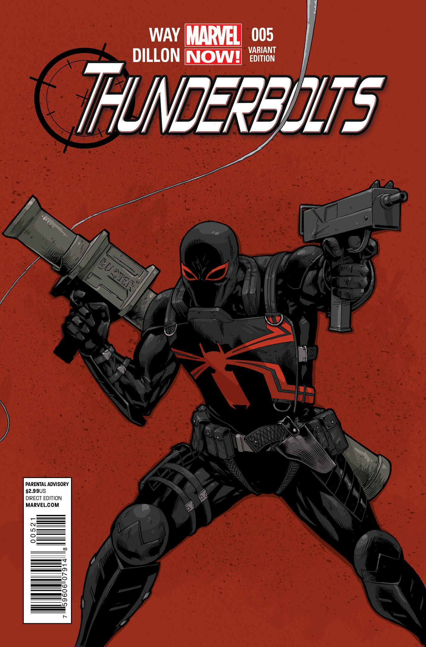 Thunderbolts Vol 2 5 Tan Variant
