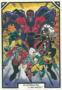 X-Men and Max Eisenhart (Earth-616) from Arthur Adams Trading Card Set 0002