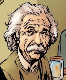 Albert Einstein (Earth-616) from Fantastic Four Annual Vol 1 33 001