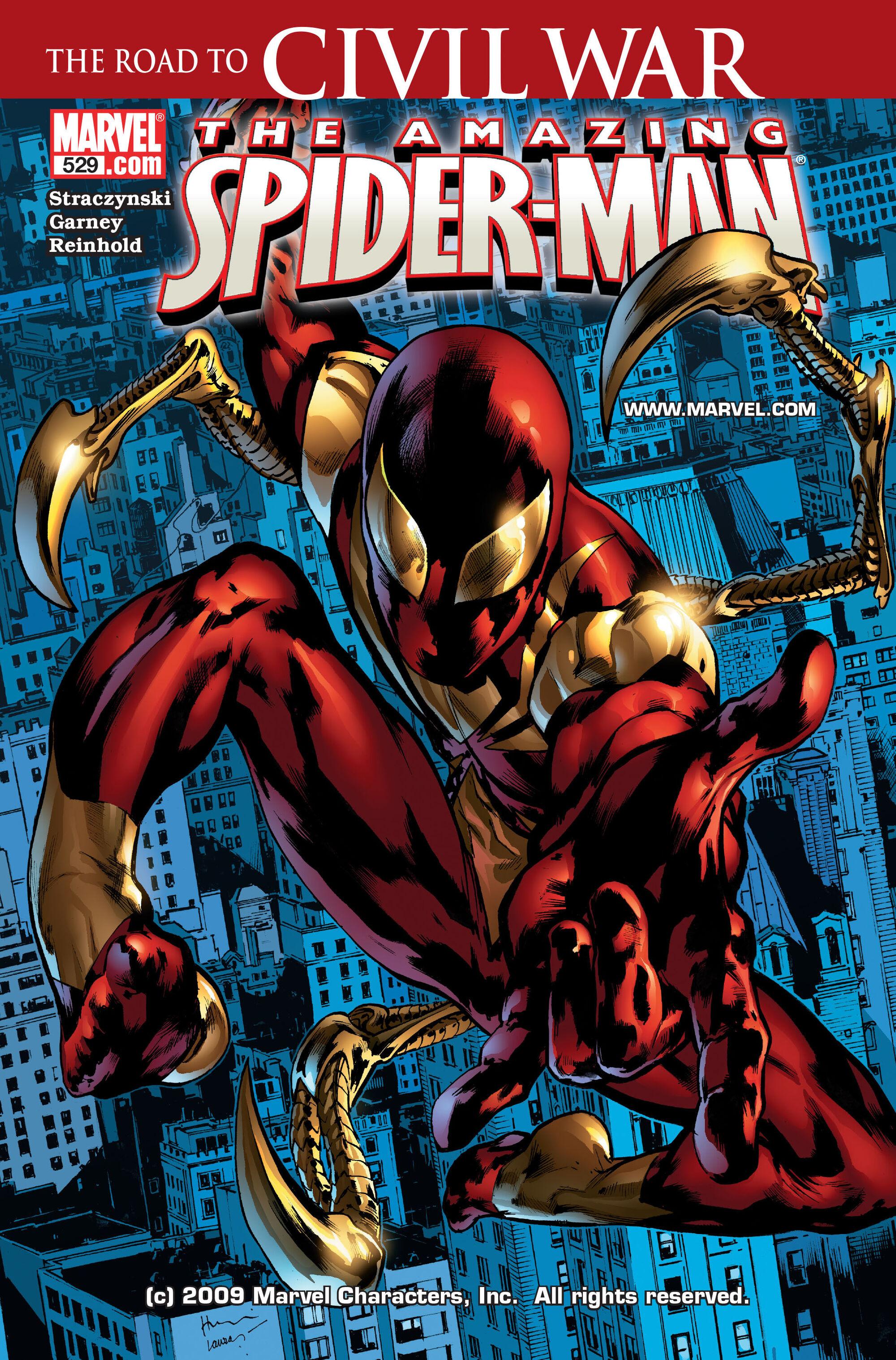 Civil War: The Road To Civil War (Spider-Man)