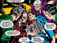Anthony Stark (Earth-616) gets emergency medical treatment in Congress from Tales of Suspense Vol 1 84