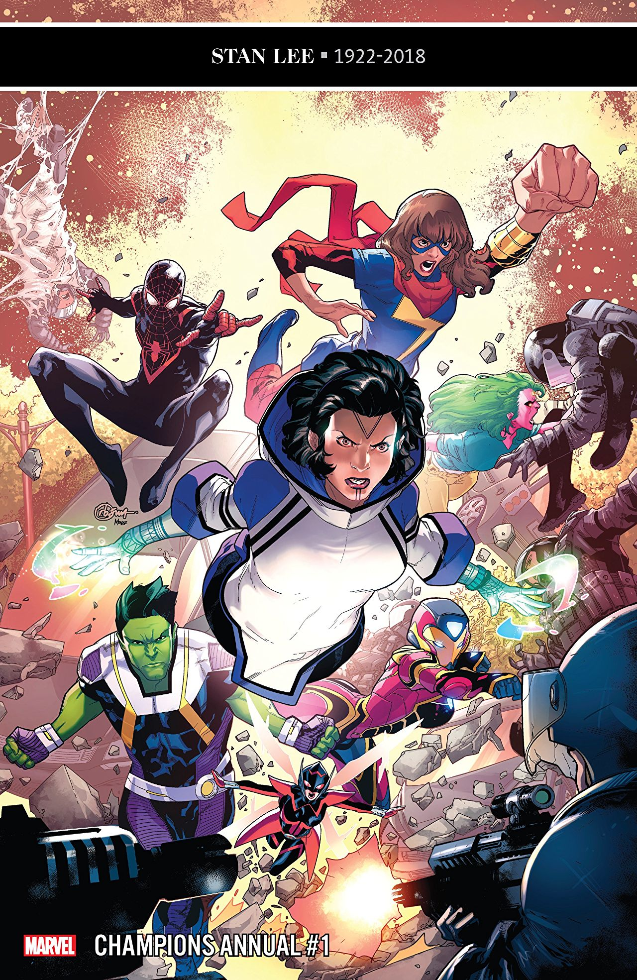 Image result for champions annual #1