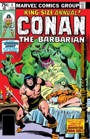 Conan the Barbarian Annual Vol 1 5