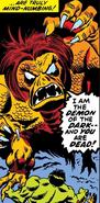 Demon of the Dark (Earth-616) from Defenders Vol 1 1 001